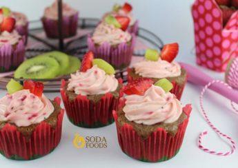 cupcake-dau-tay-mix-kiwi