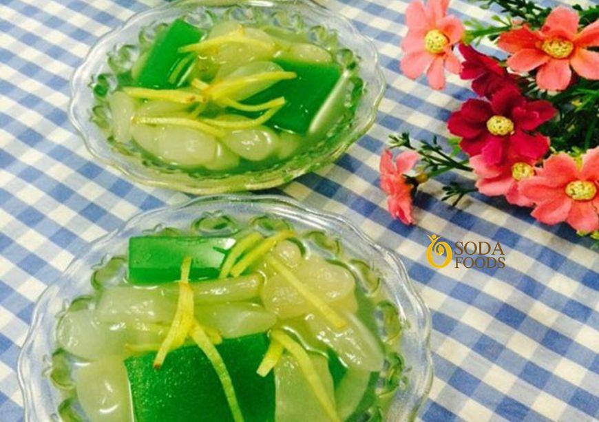 Món chè hạt đác xu xoa đặc sản Nha Trang