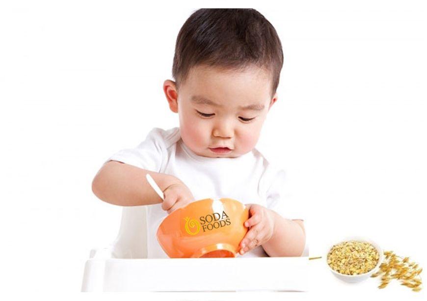 Cách nấu cháo bột yến mạch cho bé ăn dặm