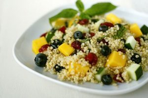 QUINOA-BLUEBERRIES