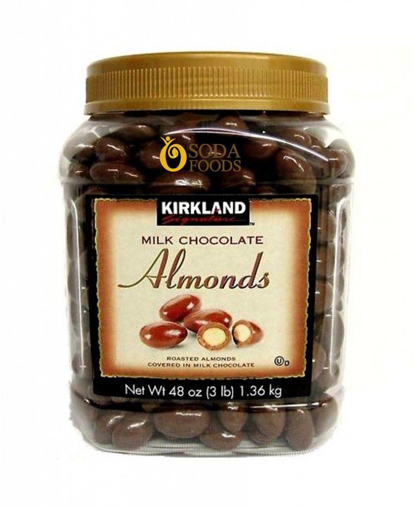 socola-boc-hanh-nhan-Kirkland-Chocolate-Almonds-sodafoods