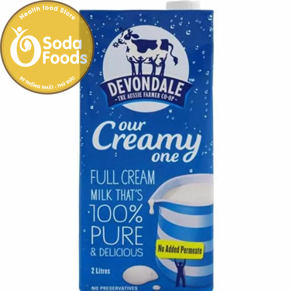 Hướng dẫn pha sữa tươi nguyên kem dạng bột Devondale