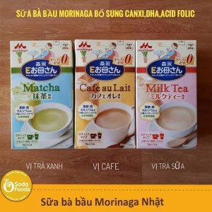 Sữa bầu Morinaga có tốt hay không? Nên uống sữa bầu Nhật Morinaga vào lúc nào