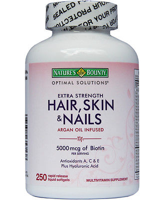 Thuốc Nature S Bounty Hair Skin And Nails 5000 Mcg Of Biotin