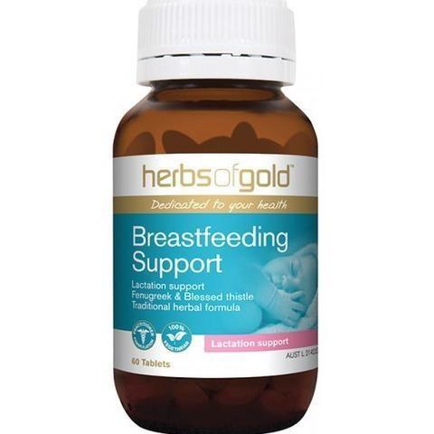 Lợi sữa Breastfeeding Support Herbsogold 60v