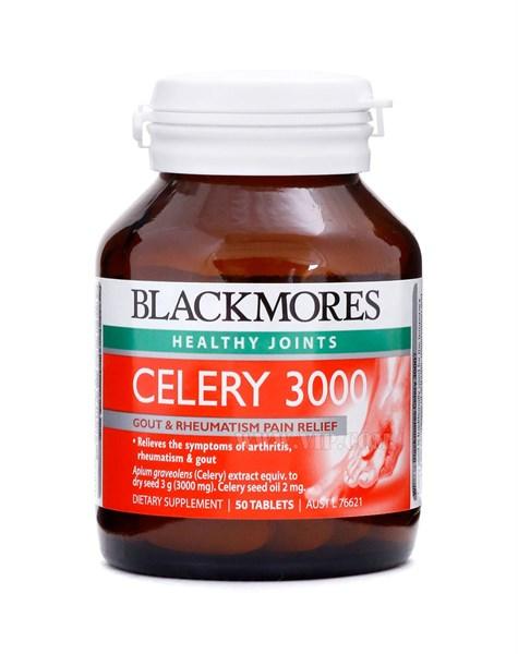 Viên uống phòng và hỗ trợ điều trị Gout Blackmores Celery 3000mg