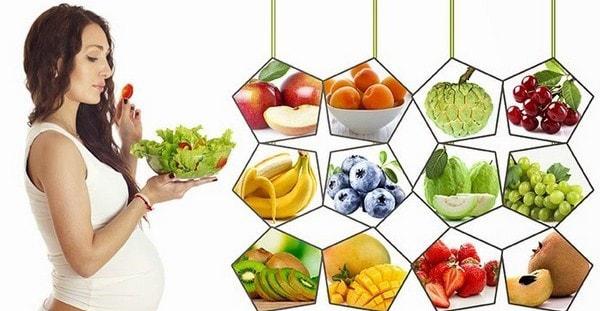 Chế độ dinh dưỡng cho bà bầu theo từng tháng mang thai