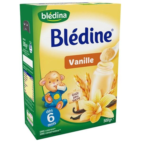 Bột pha sữa Bledina 6 tháng vị Vani 500g