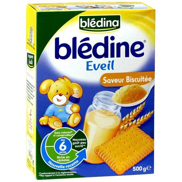 Bột pha sữa Bledina 6M vị bánh quy 500g