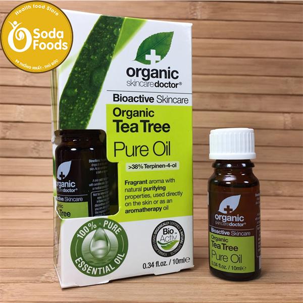 Tinh Dầu Tràm trị mụn Organic Tea Tree