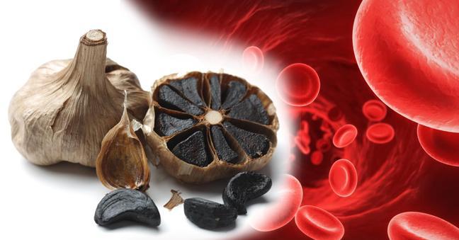 Bí quyết giảm mỡ máu với tỏi đen