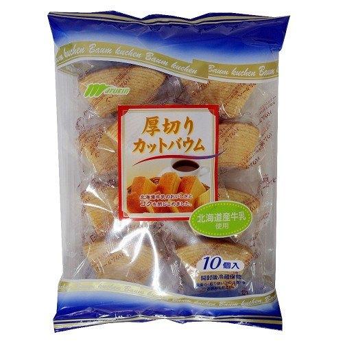 Bánh Marukin Baumkuchen cắt lát 10P