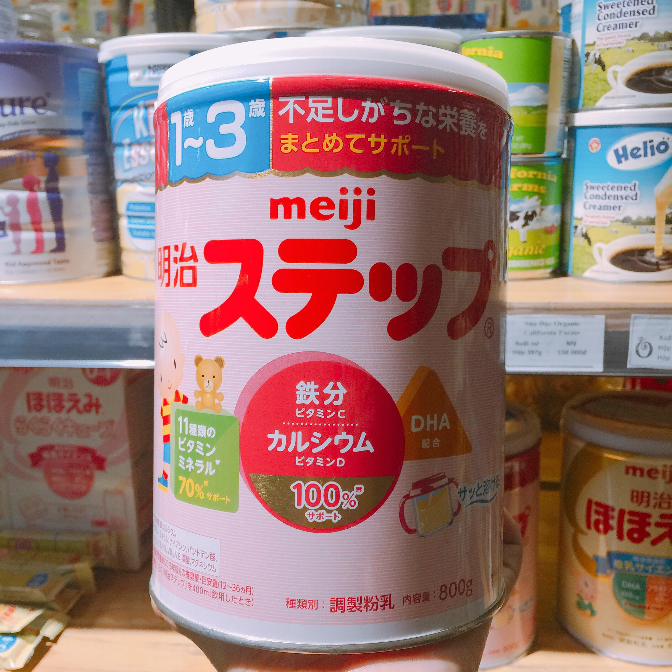Sữa meiji chính hãng - Sữa Meiji nội địa nhật