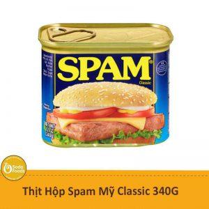 Thịt Heo Đóng Hộp Spam Classic - 340gr