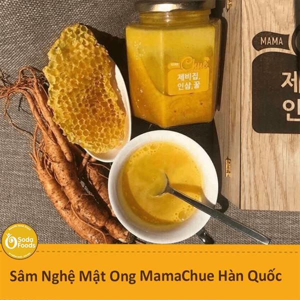 Sâm Nghệ Mật Ong MamaChue Hàn Quốc lọ 500g