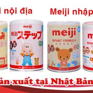 Sữa Meiji có thật sự tốt không? Giá sữa Meiji bao nhiêu ?