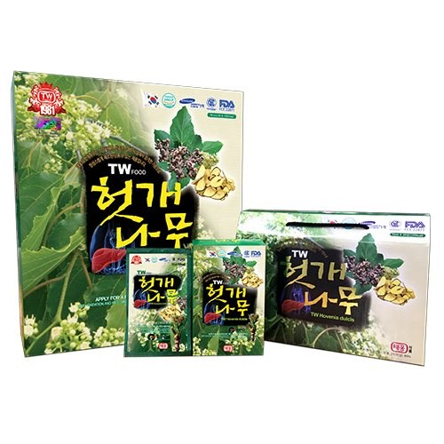 Nước thuốc bổ gan giải rượu Hàn Quốc Hovenia Dulcis Taewoong Food