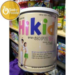 Sữa Hikid Hàn Quốc tăng CHIỀU CAO & CÂN NẶNG Vani 600g