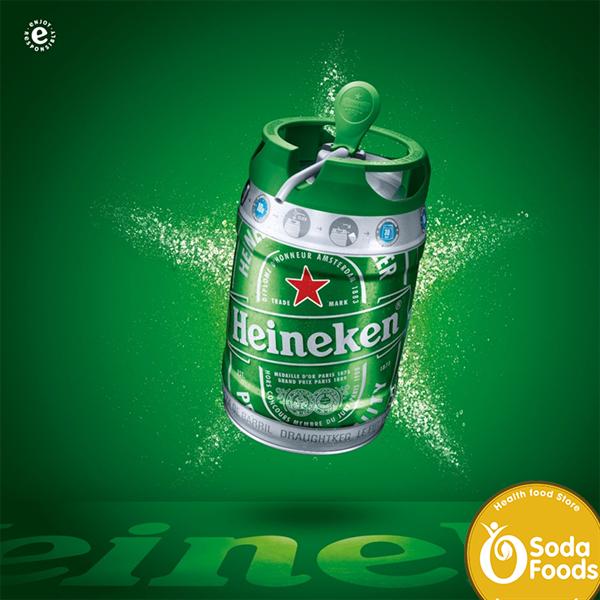 Bia Bom Heineken 5 Lít nhập khẩu Hà Lan