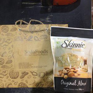 Bánh Hạnh nhân Skinnie Biscotti vị truyền thống (100g)