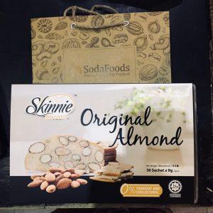 Bánh Hạnh nhân Skinnie Biscotti vị truyền thống (270g)