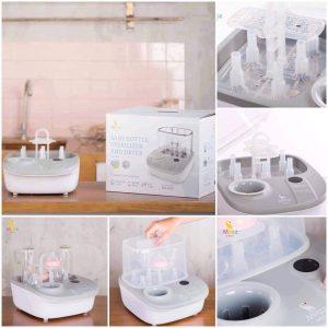 Máy tiệt trùng sấy khô và hâm sữa đa năng MOAZ BEBE MB-005