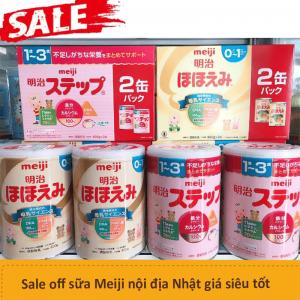 8 lý do vì sao mẹ nên chọn sữa Meiji Nhật