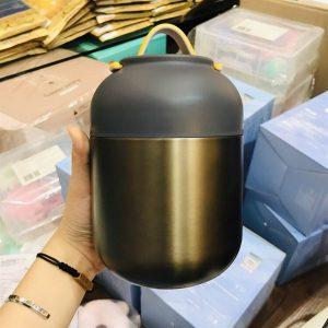 Phích ủ cháo Relea 700ml (Đen)