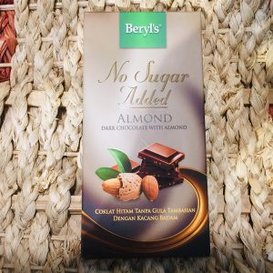 Chocolate Beryl's Dark Almond No Add Sugar 85g