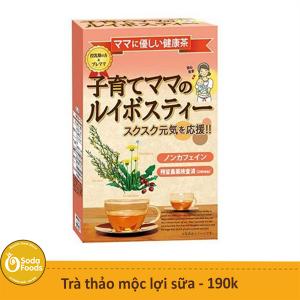 Trà thảo mộc lợi sữa Showa Seiyaku