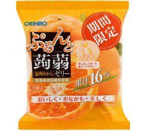 Thạch rau câu Orihiro Nhật vị Cam