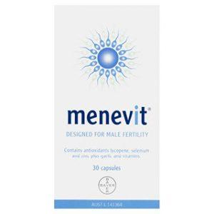 Hỗ trợ sinh sản nam giới Menevit 30 viên