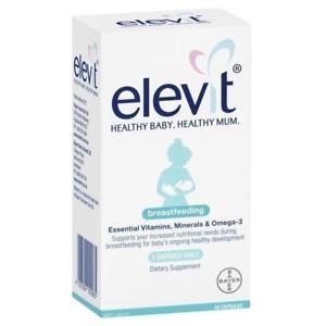 Elevit vitamin cho mẹ sau sinh 60v