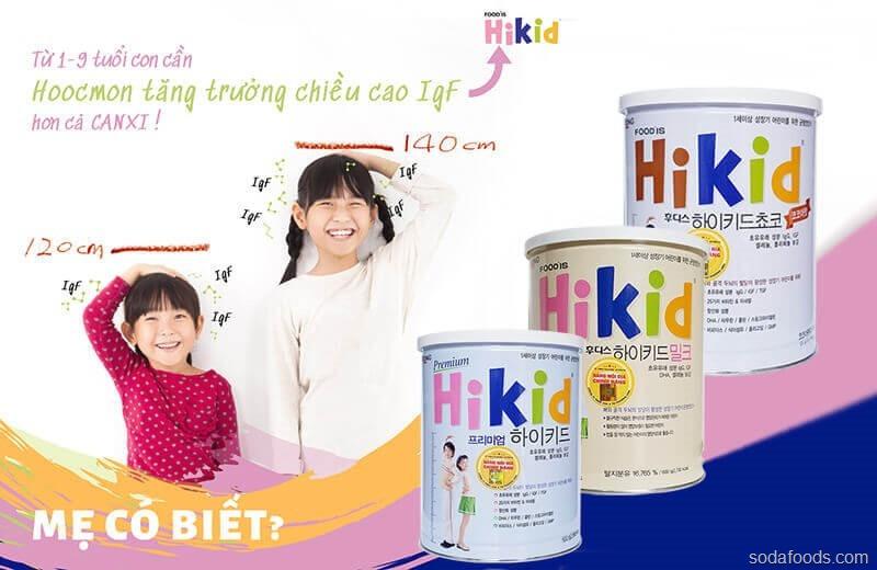 Review sữa Hikid Hàn Quốc có tốt không ? Có mấy loại sữa Hikid Hàn Quốc ? 5 ưu điểm vàng của sữa Hikid mẹ nên chọn