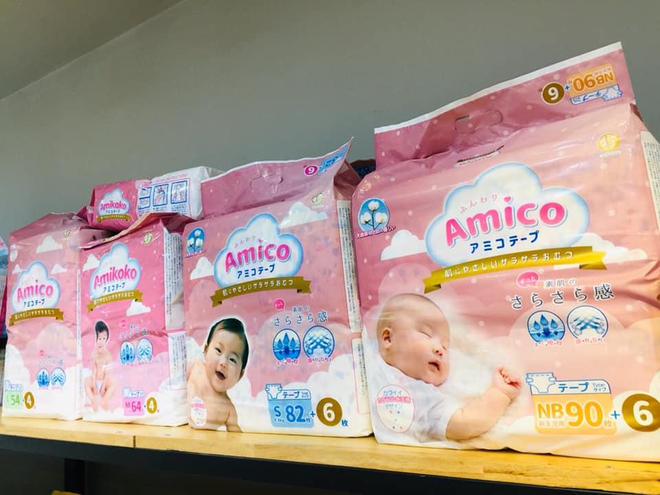 Review tã Amico Nhật Bản