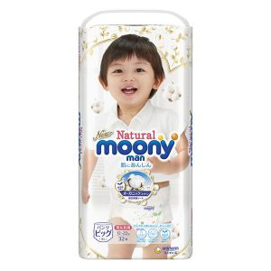 Tã quần Moony Natural size XL32 (12-22kg)