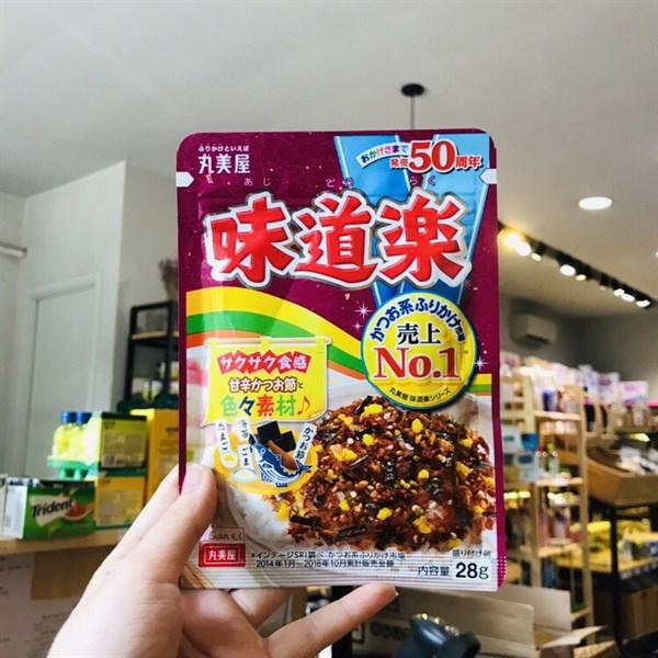 8 loại Gia vị rắc cơm nổi tiếng của Nhật mà bé nào cũng thích mê
