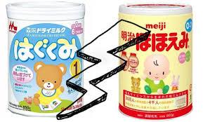 So sánh 2 loại sữa Nhật Morigana & Meiji loại nào tốt hơn?